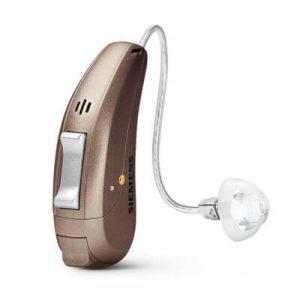 Hinter-dem-Ohr-Hörgerät der Firma Siemens